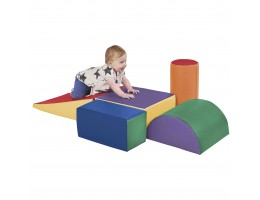 SoftZone Climb and Crawl Play Set