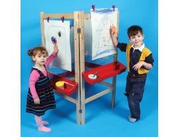 Four-Place Easels