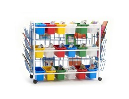 Deluxe Leveled Reading Book Browser Cart 18-1