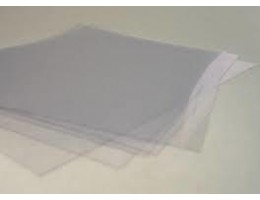 "Acetate clear 100 sheets/pkg 8.5"" x 11"""