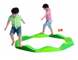 Wavy Tactile Path - Green