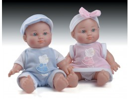 "9"" Twin Baby Dolls (Set of 2))"