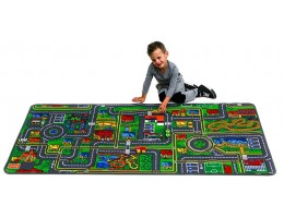 Giant Road Map Play Carpet