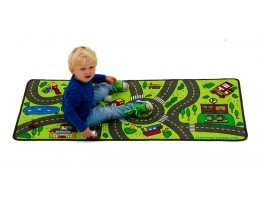 Playful Road Play Carpet