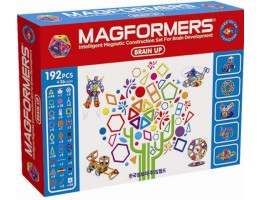 Magformers 192 Piece Brain-up Set