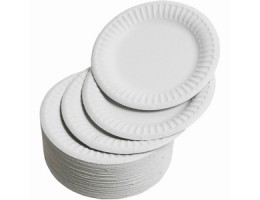 Uncoated Paper Plates