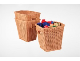 Tall Plastic Woven Baskets