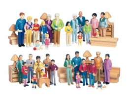 Multi-Cultural Pretend Play Families