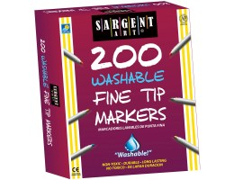 Fine Tip Washable Markers 200ct