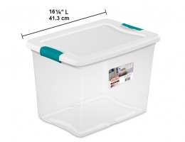 Latching Box Clear