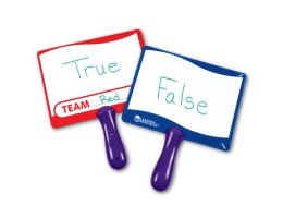 Write-on / Wipe-off Answer Boards (Set of 10)