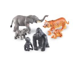 Jumbo Jungle Animals Mommas and Babies
