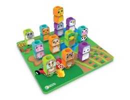 Peg Friends Stacking Farm