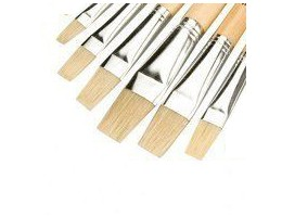 Artist Brushes, Set of 6