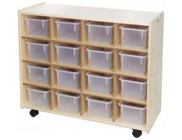 16 Bin Storage