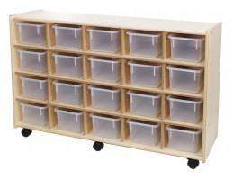 20 Bin Storage