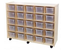 25 Bin Storage