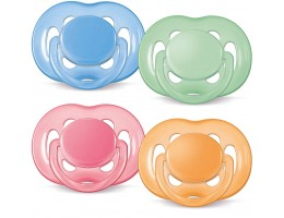 Freeflow Silicone Pacifier 6-18 Months