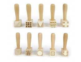 Wooden Dough Hammers