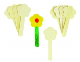 Wooden Sticks –Flower