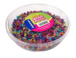 ABC Opaque Coloured Beads