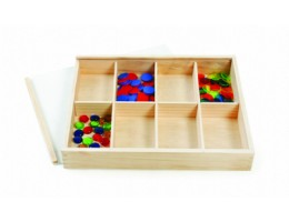 Wooden Box with Transparent Lid