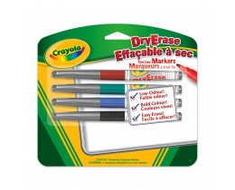 Dry Erase Fine Line Markers 4ct
