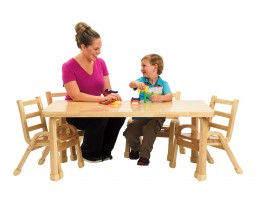 Rectangle NaturalWood Table